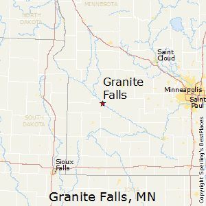 Granite_Falls,Minnesota Map