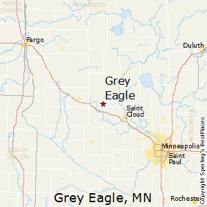 Grey_Eagle,Minnesota Map