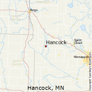 Hancock,Minnesota Map