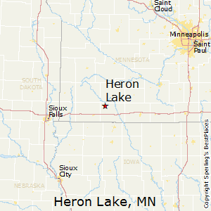 Heron_Lake,Minnesota Map