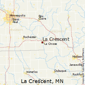 La_Crescent,Minnesota Map