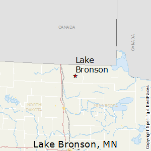 Lake_Bronson,Minnesota Map