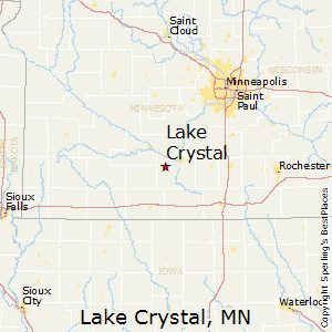Lake_Crystal,Minnesota Map