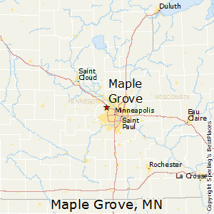 Maple_Grove,Minnesota Map