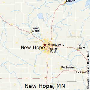 New_Hope,Minnesota Map