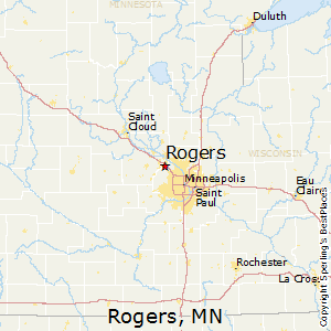 Rogers,Minnesota Map