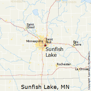 Sunfish_Lake,Minnesota Map