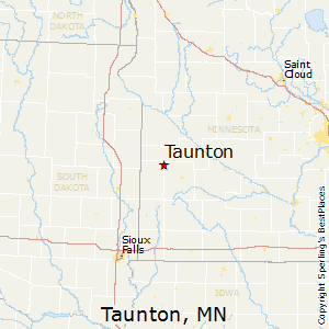 Taunton,Minnesota Map