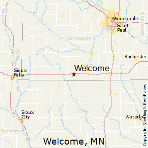Welcome,Minnesota Map