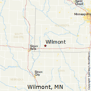 Wilmont,Minnesota Map