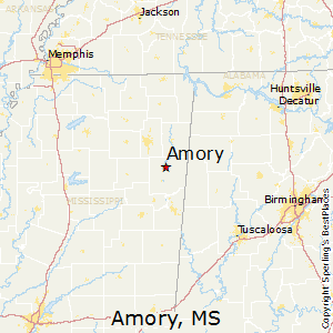 Best Places to Live in Amory, Mississippi