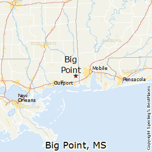 Big_Point,Mississippi Map