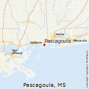 best places to live in pascagoula mississippi