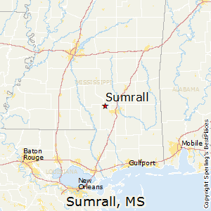 Sumrall,Mississippi Map