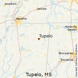 Map Tupelo Mississippi Best Places to Live in Tupelo, Mississippi