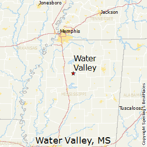 Water_Valley,Mississippi Map
