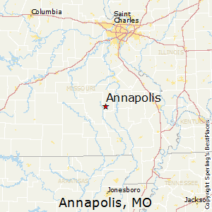 Annapolis,Missouri Map