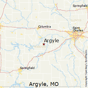 Argyle,Missouri Map