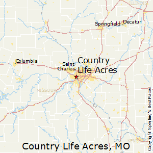 Country_Life_Acres,Missouri Map