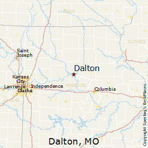 Dalton,Missouri Map