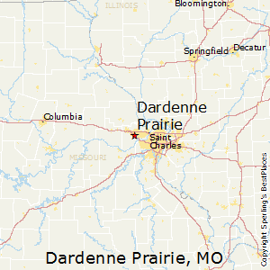 Dardenne_Prairie,Missouri Map