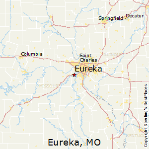 Eureka,Missouri Map