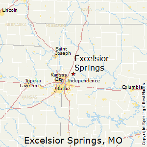 Excelsior_Springs,Missouri Map