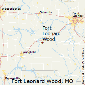 Fort leonard wood zip code mo