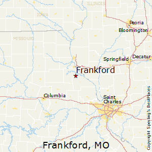 Frankford,Missouri Map