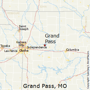 Grand_Pass,Missouri Map