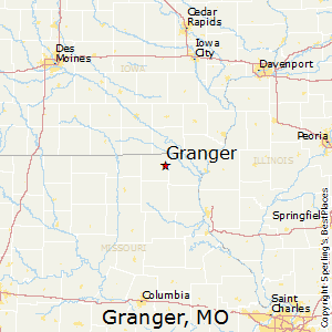 Granger,Missouri Map