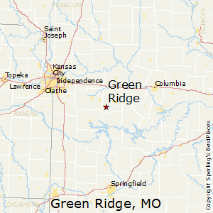 Green_Ridge,Missouri Map
