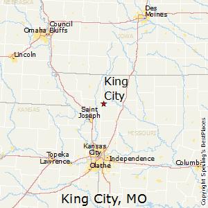 Comparison St Joseph Missouri King City Missouri