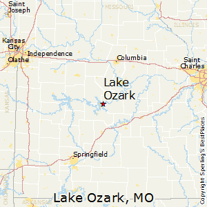 Best Places to Live in Lake Ozark Missouri