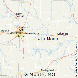La_Monte,Missouri Map