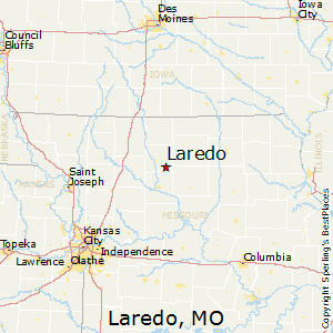 Laredo,Missouri Map