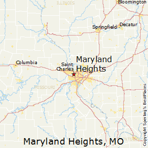 where is maryland heights mo on the map Maryland Heights Missouri Religion where is maryland heights mo on the map