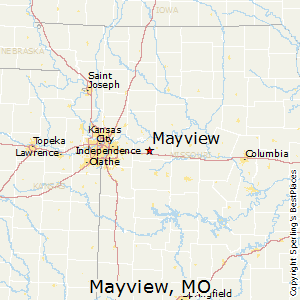 Mayview,Missouri Map
