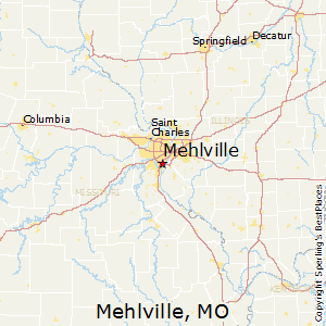 Mehlville,Missouri Map