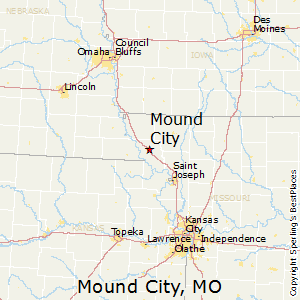Mound_City,Missouri Map