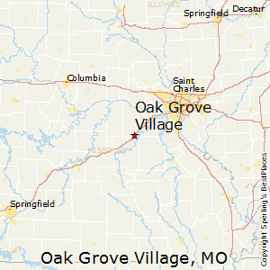 Oak_Grove_Village,Missouri Map
