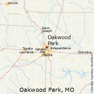 Oakwood_Park,Missouri Map