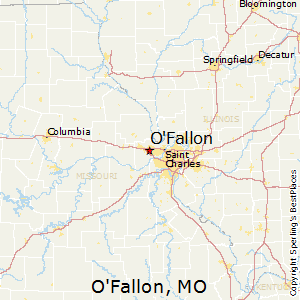 O'Fallon,Missouri Map