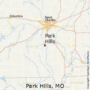 Park_Hills,Missouri Map