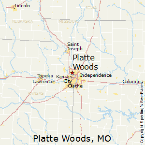 Platte_Woods,Missouri Map