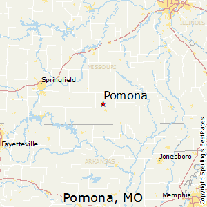 Pomona,Missouri Map