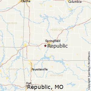 Republic missouri zip code