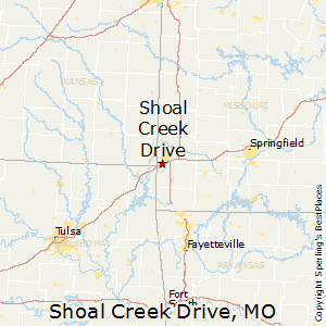 Shoal_Creek_Drive,Missouri Map
