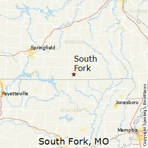 South_Fork,Missouri Map
