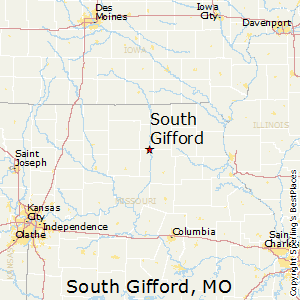 South_Gifford,Missouri Map